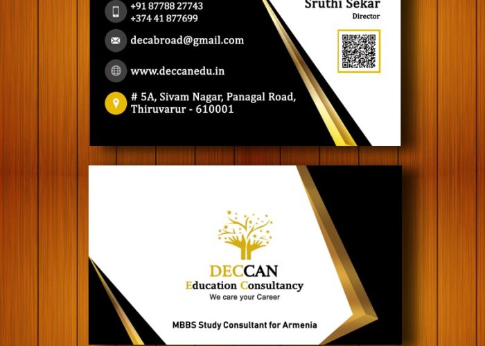 Business Card Design for Deccan