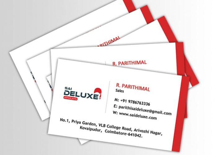 Business Card Sri Sai Deluxe