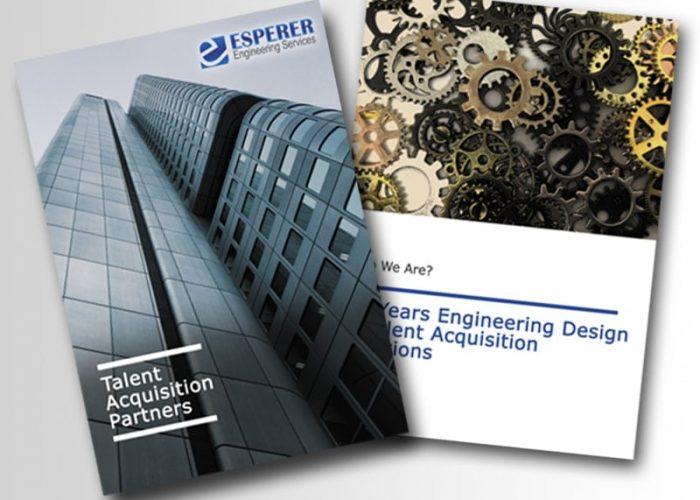 Corporate Profile Design for Esperer