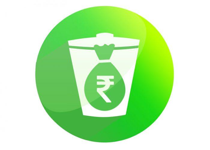 Logo Design for Cash on Trash
