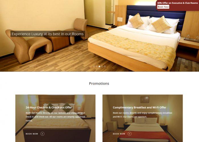 Web Design for Liberty Park Hotel