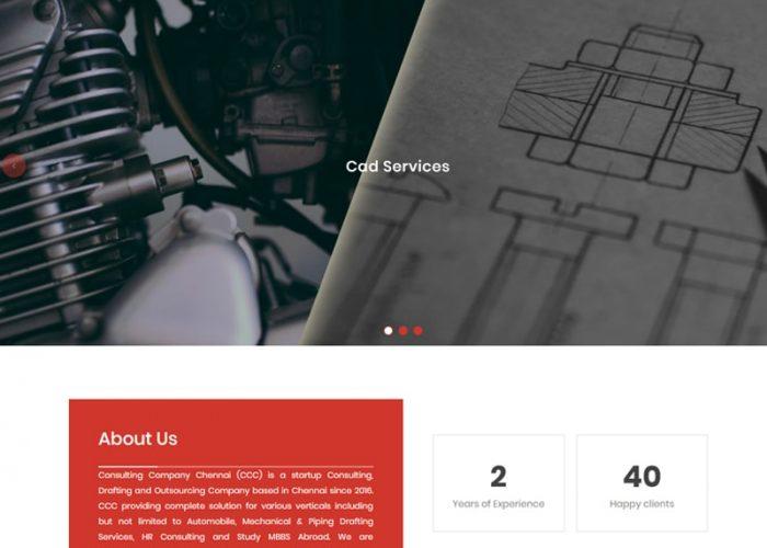 Website Design for CCC