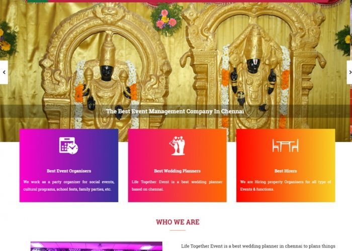 Website Design for LTEM